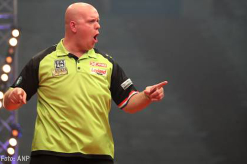 Michael van Gerwen wint World Grand Prix