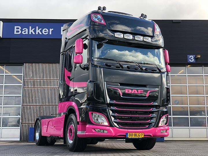 Transport Online Nieuwe Daf Ftp Xf Voor Vdb Logistics