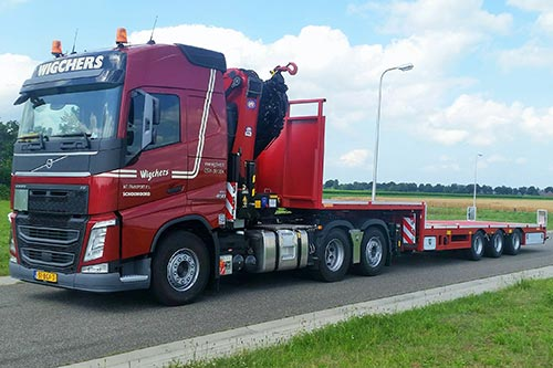 Wigchers Internationaal Transport start nevenvestiging in Gieten