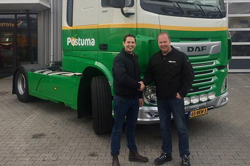 Nieuwe DAF voor Postuma IJsselmuiden