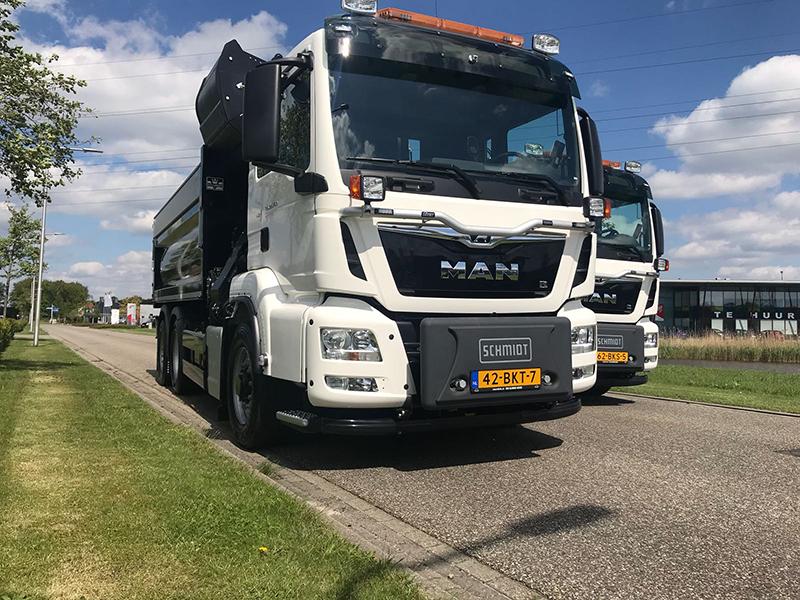 Bestuursdienst Ommen Hardenberg.Transport Online Twee Nieuwe Man Tgs Trucks Voor
