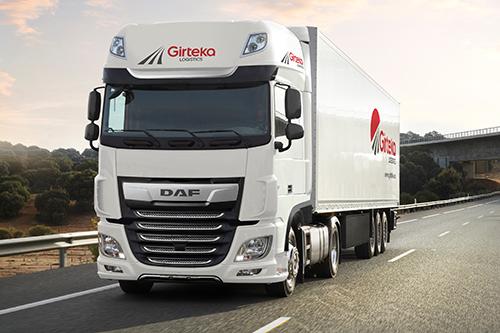 Girteka Logistics solicita 500 camiones DAF XF