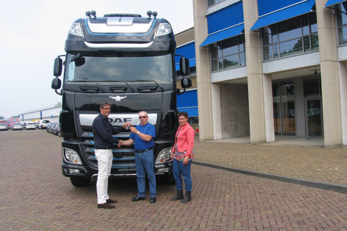 DAF XF 90th Anniversary Edition voor Hilcotrans