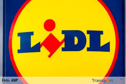 Staking bij distributiecentrum Lidl in Tiel