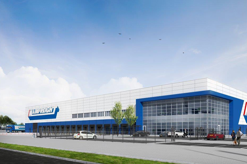 Mainfreight opent nieuw warehouse in Born