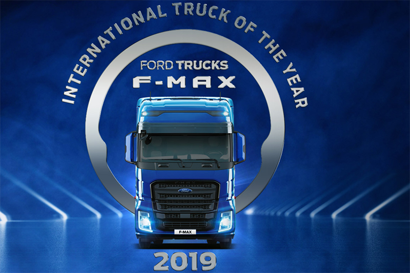 Nieuwe F-Max van Ford Trucks verkozen tot International Truck of the Year 2019