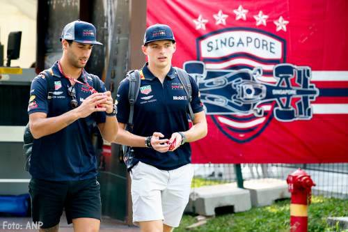Max Verstappen tweede in eerste training Singapore