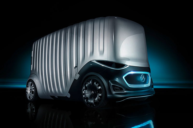 Mercedes-Benz Vans onthult nieuw autonoom mobiliteitsconcept: Vision URBANETIC [foto's+video]