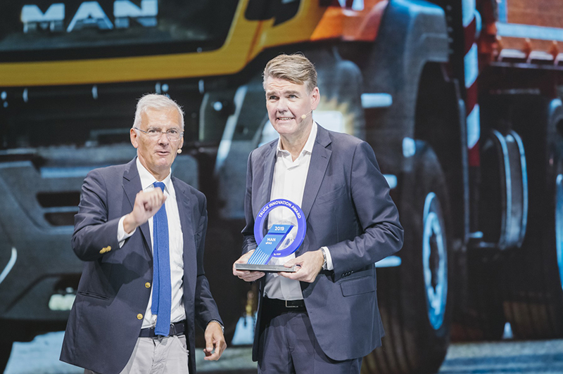 MAN aFAS wint Truck Innovation Award