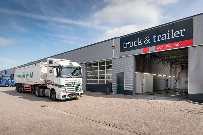 Truck & Trailer Lochem opent nieuw pand na brand