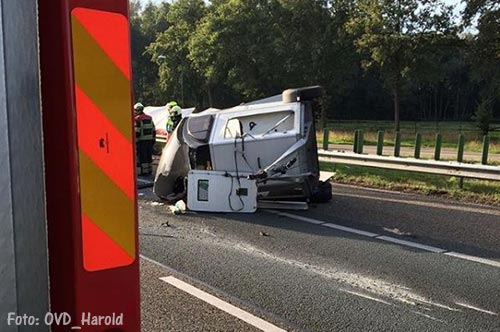 A59 weer open na ongeval [+foto]