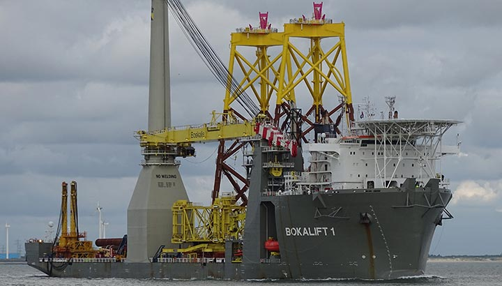 Boskalis aangewezen als preferred contractor voor Inch Cape offshore windpark project