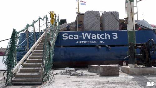 Havenautoriteit isoleert schip Sea-Watch