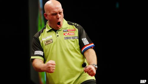 Michael van Gerwen prolongeert World Grand Prix-titel