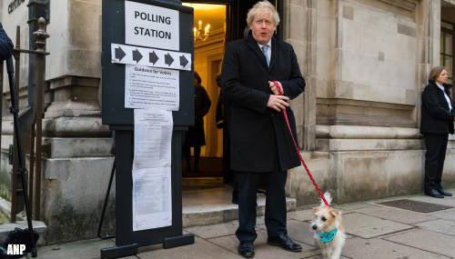 Exit-polls: grote meerderheid voor Boris Johnson in Lagerhuis