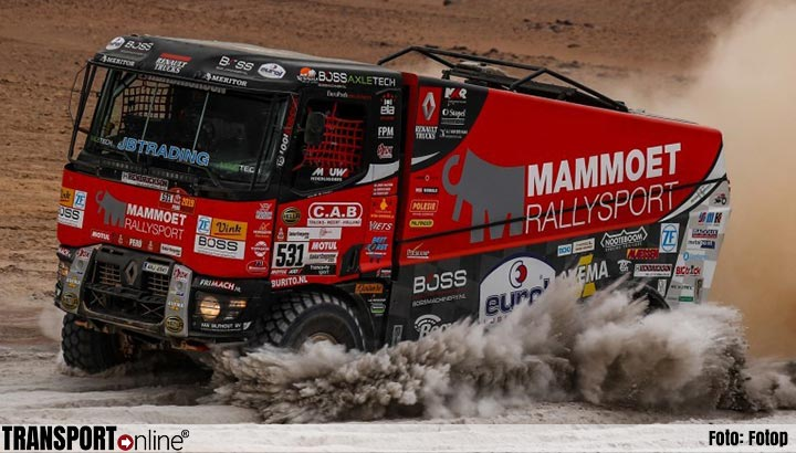 Transport Online Mammoet Rallysport Beperkt Verlies Door