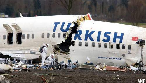 Crash Turkish Airlines herdacht