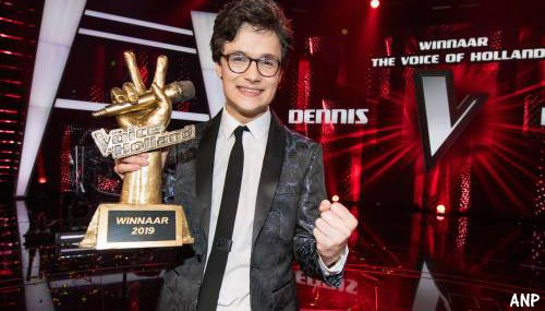 Dennis wint The voice of Holland