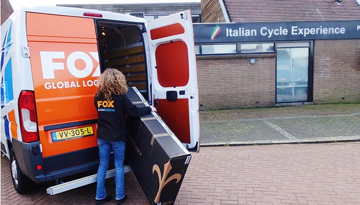 FOX Global Logistics neemt de activiteiten van Bicycle Logistics Rotterdam over
