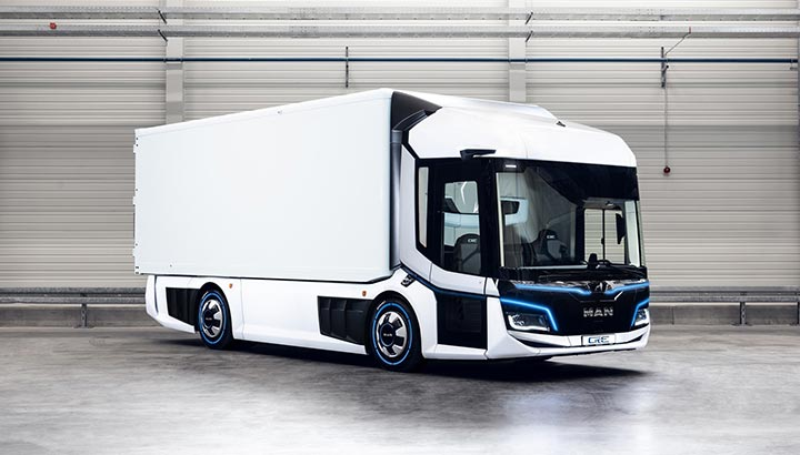 iF Design Awards voor MAN Lion's City en CitE concept truck