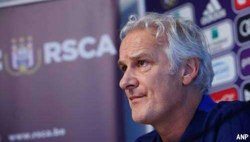Fred Rutten per direct weg als trainer Anderlecht