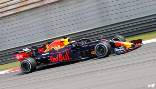 Verstappen derde in tweede training China
