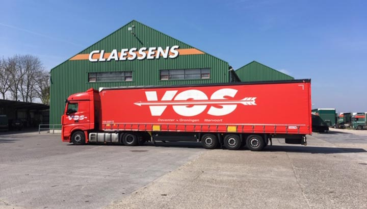 Vos Transport start failliet Claessens door