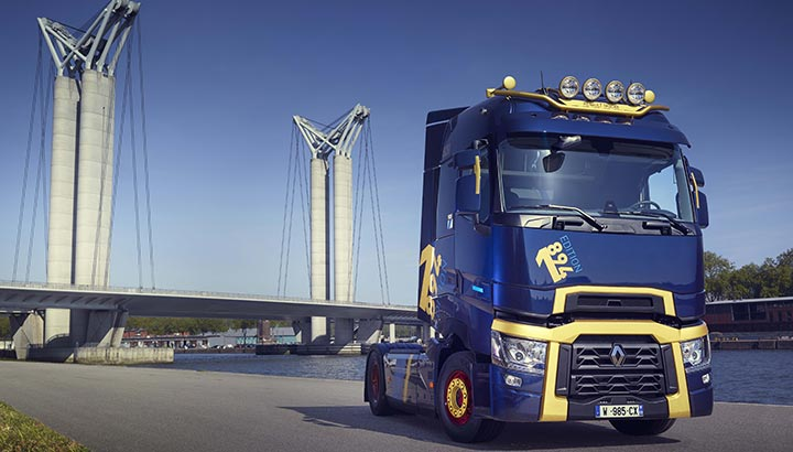 Limited edition T High 1894 Edition voor 125-jarig Renault Trucks