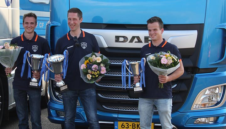 Christian Wesselius wint Nationale Daf Driver Challenge 2019