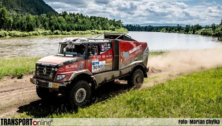 Mammoet Rallysport in spoor van koplopers Silk Way Rally