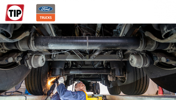 Ford Trucks sluit overeenkomst met TIP Trailer Services voor aftersalesdiensten in West-Europa