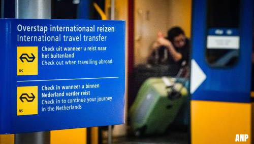 NS: meer mensen in internationale treinen