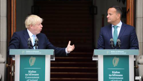 Johnson: nooit grenscontroles Noord-Ierland