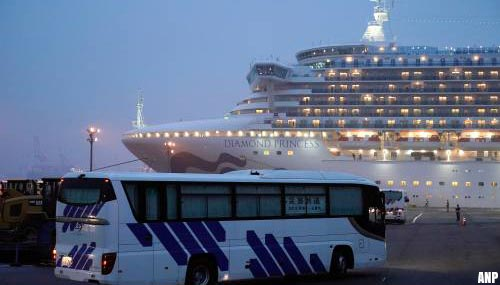 99 nieuwe infecties coronavirus op cruiseschip Diamond Princess Japan