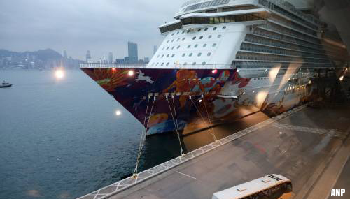 Quarantaine cruiseschip 'The World Dream' in Hongkong opgeheven