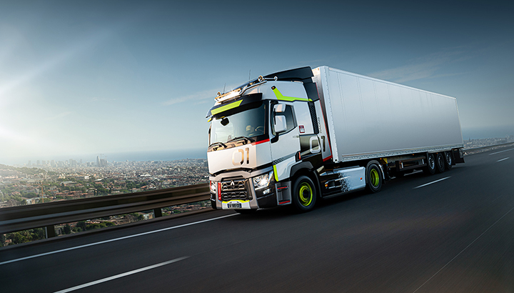 Renault Trucks T 01 Racing, de eerste speciale Used Trucks-edition