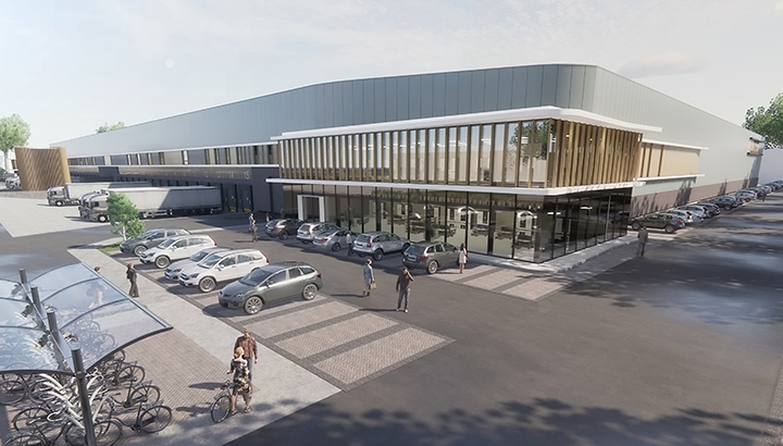 VDG Real Estate & Next Level ontwikkelen Warehouse Waalwijk