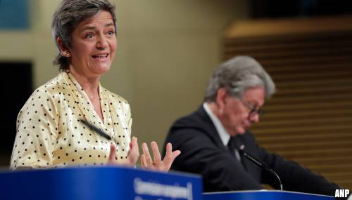 Excuses Vestager over verwarring rond procedure om vouchers