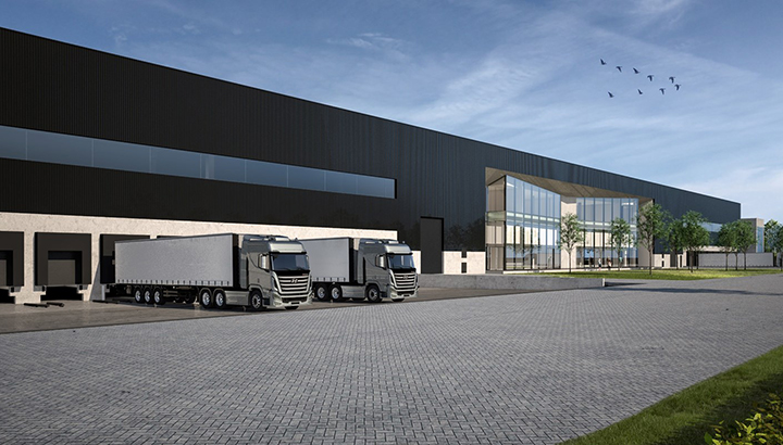 Heylen Warehouses bouwt Ghent Logistics Campus in North Sea Port