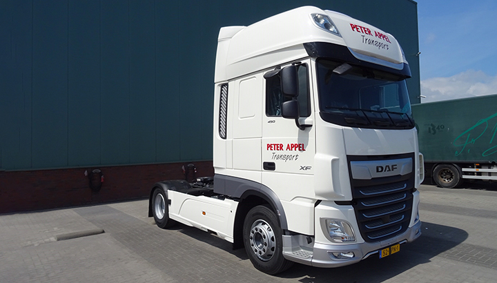 Primeur DAF City Turn Assist voor Peter Appel Transport
