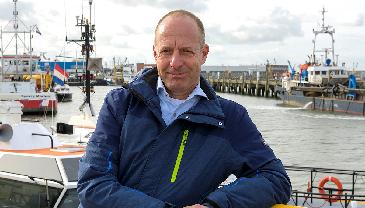 Frans Papp is nieuwe havenmeester Port of Harlingen