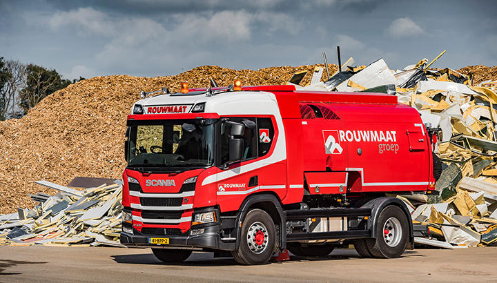 Rouwmaat investeert in nieuwe Scania én in partnership