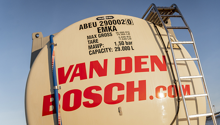 Van den Bosch presenteert High Volume Temperature Controlled-tankcontainer