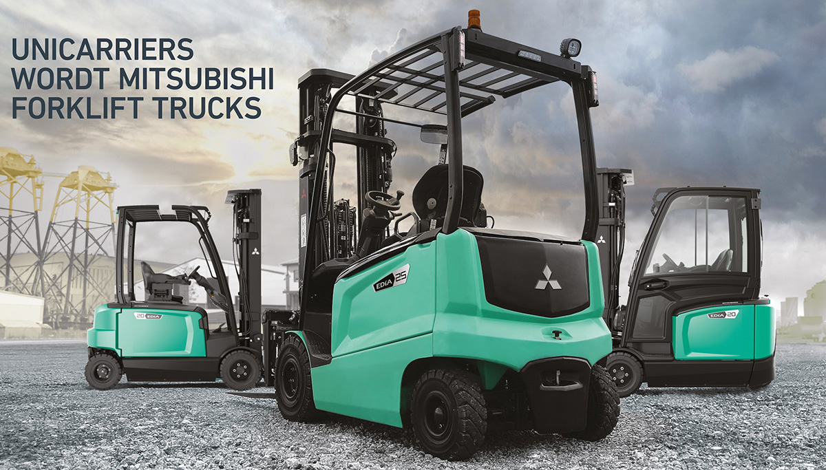 UniCarriers wordt Mitsubishi Forklift Trucks
