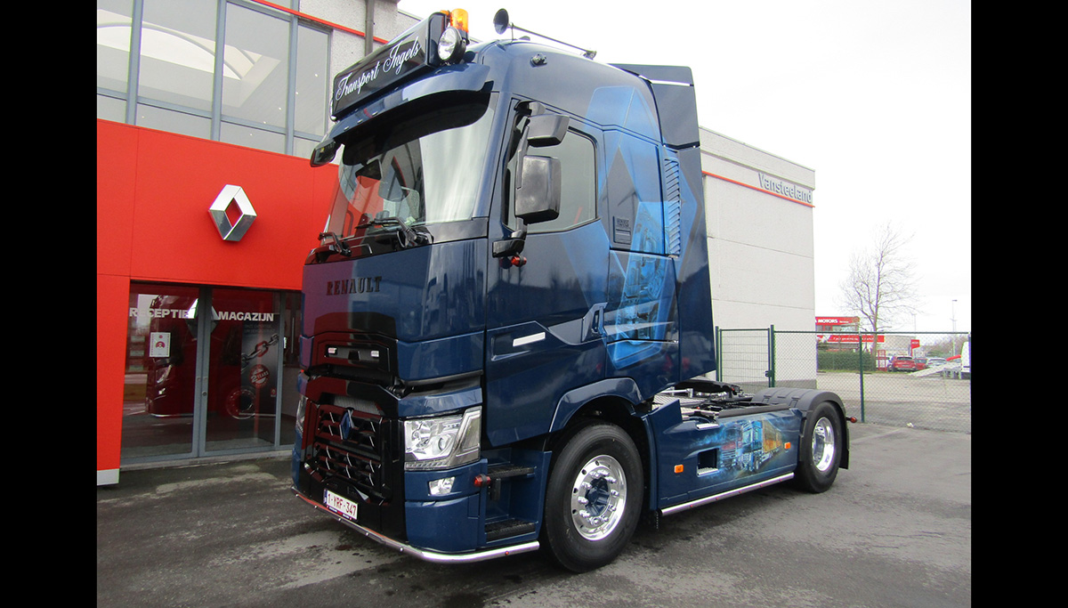 Renault Trucks T 520 voor Transport Ingels