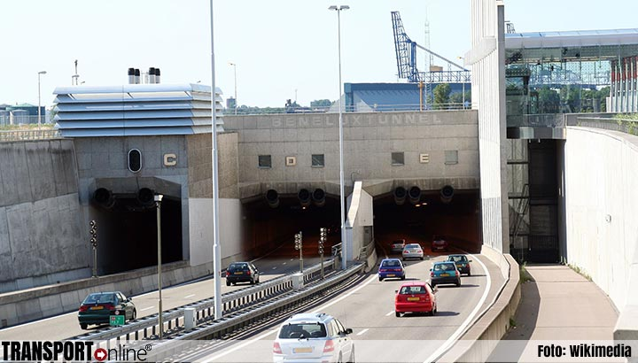 Nachtafsluiting Beneluxtunnel op 13 november
