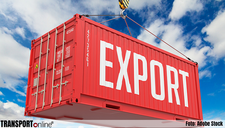 Export groeit met 4,5 procent in februari