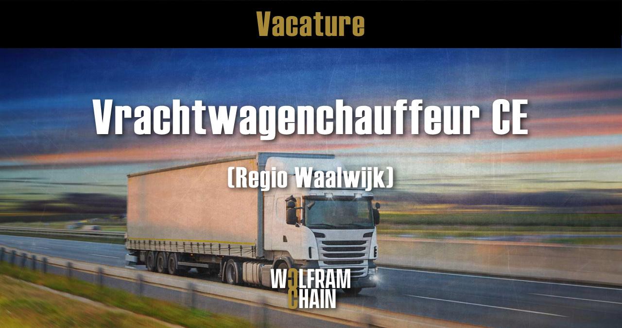 Vrachtwagenchauffeur CE - regio waalwijk