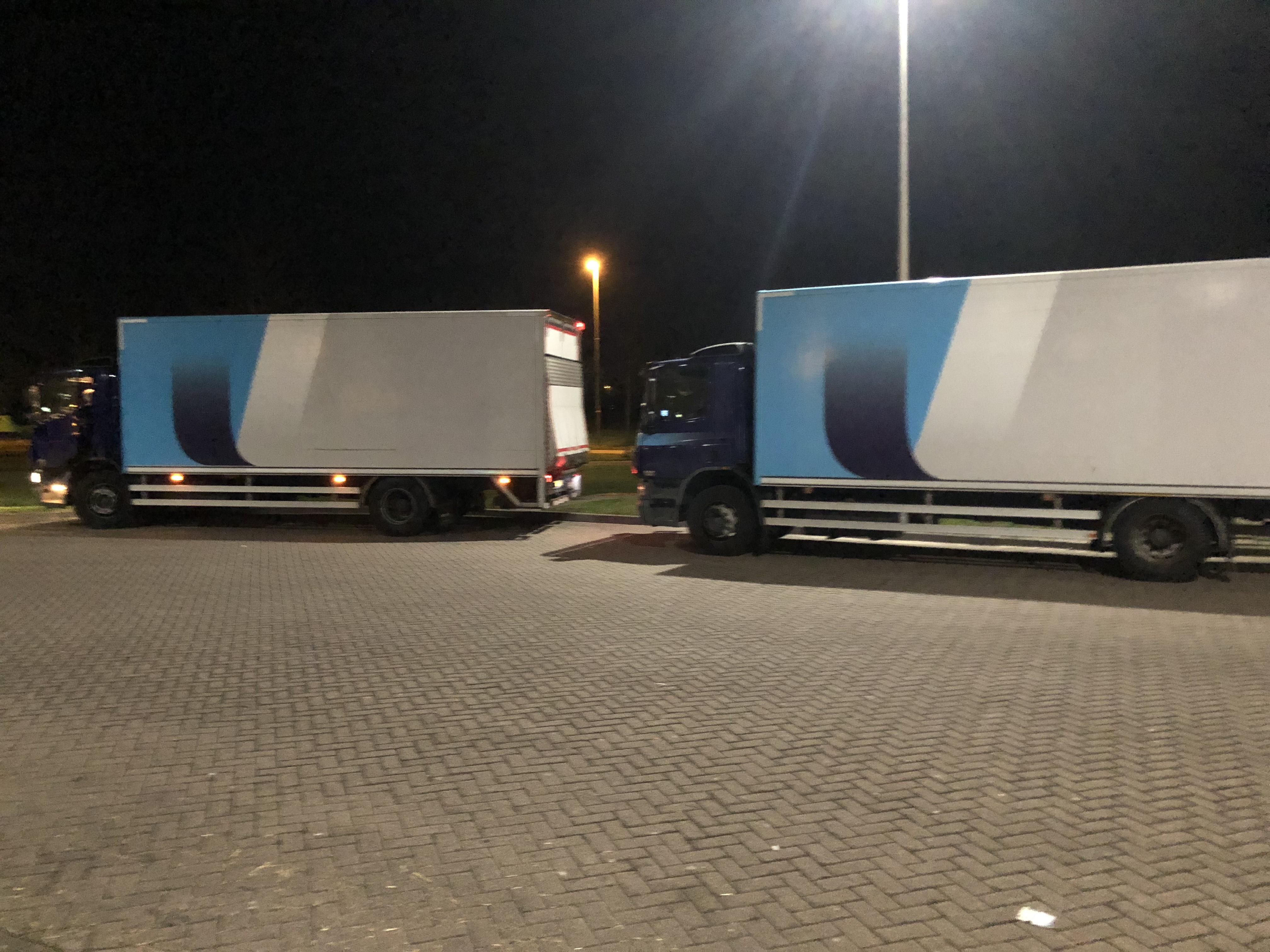 Vervoersbedrijf zoekt nachtritten-vrachten