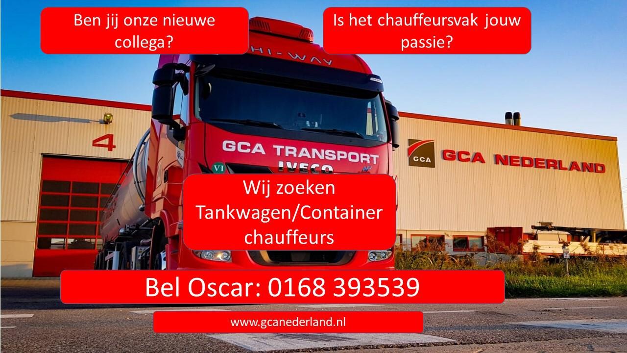 Tankwagen- en  tankcontainerchauffeur gezocht